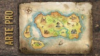 Como dibujar un Mapa paso a paso
