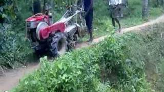 Farm Mechanisation in Kerala- Power tiller