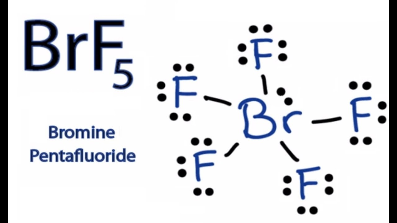 Brf5 Lewis Structure How To Draw The Lewis Dot Structure For Brf5