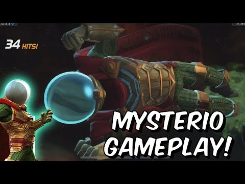 Mysterio Rank Up & Gameplay! - Poison Damage God?! - Marvel Contest of Champions