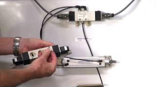 Series A611 - 5 way 3 position solenoid valve