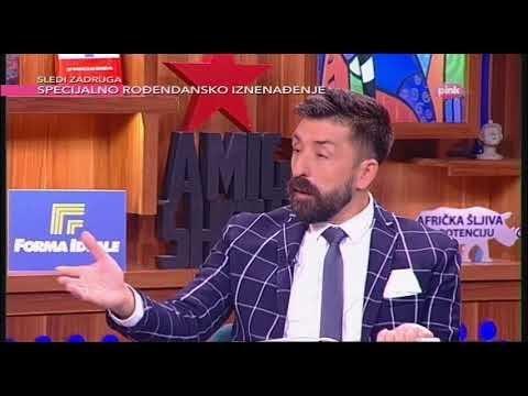 Dragan Markovic Palma o gej paradi i homoseksualcima - Ami G Show S10