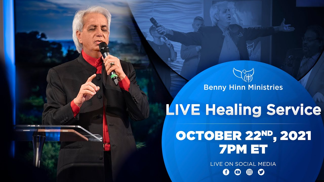 Download LIVE Miracle Healing Service with Pastor Benny Hinn!