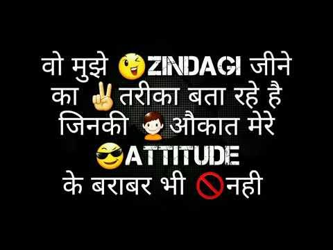Attitude Whatsapp status  #Hacker
