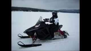 2010 POLARIS RUSH DEMO RIDE NH