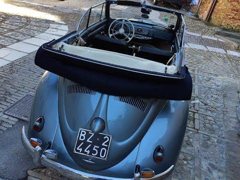 VW MAGGIOLINO (BEETLE) CABRIO 1955 (ENGLISH VERSION)