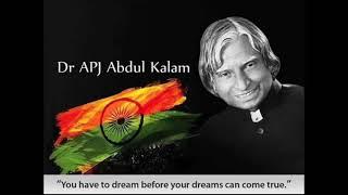 Biography of Dr APJ Abdul Kalam By Gulzar Saab