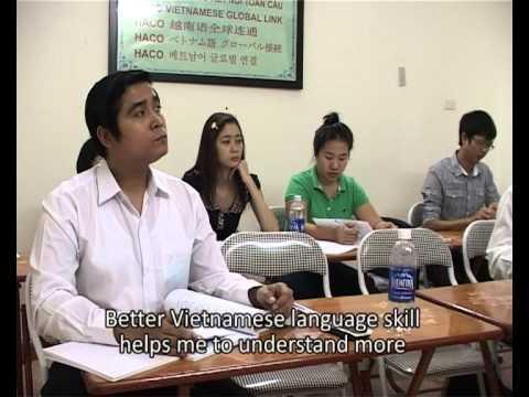 Giảng dạy tiếng Việt cho người nước ngoài-HACO