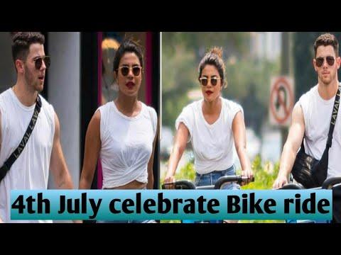 Priyanka Chopra and Nick Jonas 4th July Celebrate Bike ride Mp3