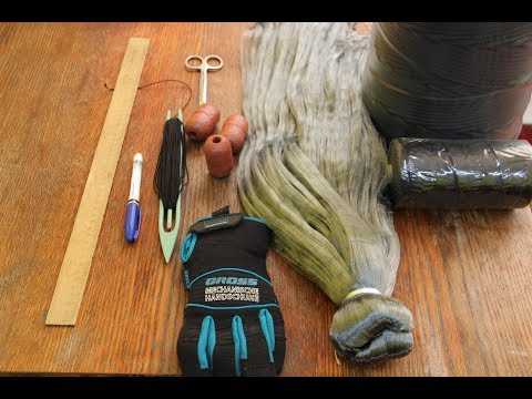 Making Fishing Nets And Fishing Scales At Home With Your Own Hands.