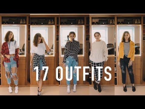 17 OUTFITS: My Uni Fashion Basics | sunbeamsjess