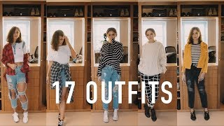 17 OUTFITS: My Uni Fashion Basics | sunbeamsjess