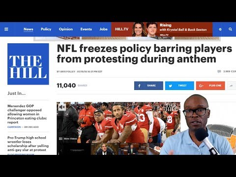 NFL Freezes New National Anthem Requirement Policy, Allows Players To Kneel (REACTION)