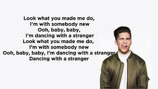 Alex Aiono - Dancing With a Stranger & MIA (Lyrics) by Sam Smith, Normani, Bad Bunny, & Drake