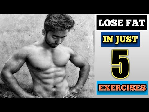 BEGINNER FAST FAT LOSS || IN JUST 5 EXERCISES || HINDI || ASSAM || HOME WORKOUT