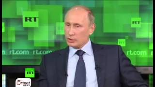 أورينت نيوز | تصريحات بوتين تغيير في المواقف !! أم استرتيجية لدعم حليفه بشار
