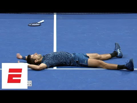 2018 US Open Highlights: Novak Djokovic defeats Juan Martín del Potro in straight sets to win | ESPN