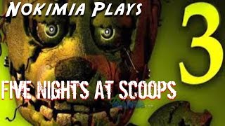 FIVE NIGHTS AT SCOOPS-Nokimia plays roblox
