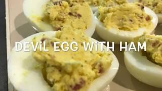 # 7 Devil Egg With Ham