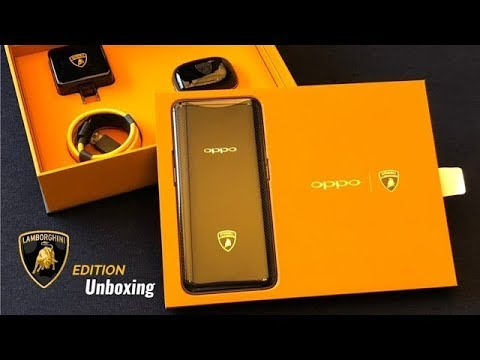Oppo Find X Lamborghini Edition Unboxing First Time In India Youtube
