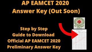 AP EAMCET 2020 Answer Key (Out Soon) - How to Check Official AP EAMCET 2020 Preliminary Answer Key