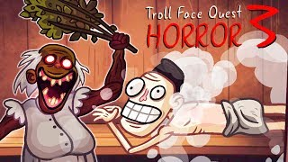 GIVE IT TO THE PARK! Steam room with GRANNY in the Fun game Troll Face Quest Horror 3