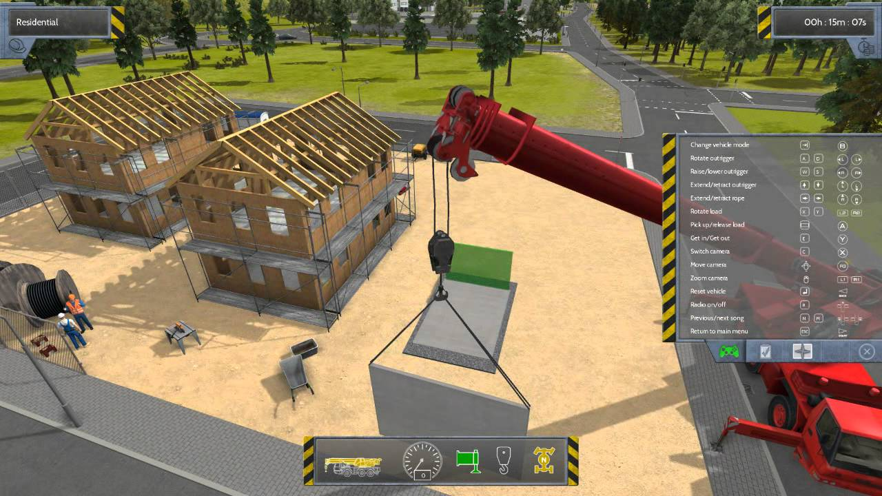 Construction simulator 2012 finishing the garage w commentary youtube Create a house online game