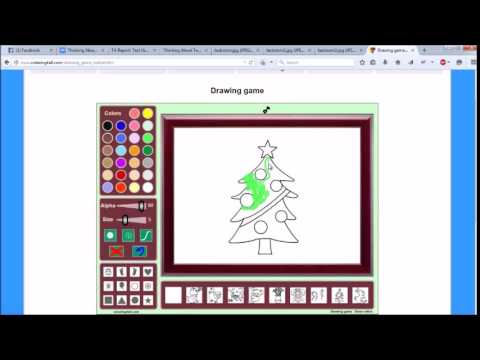 Usability Testing A03 : www coloring4all com - Rizky - YouTube