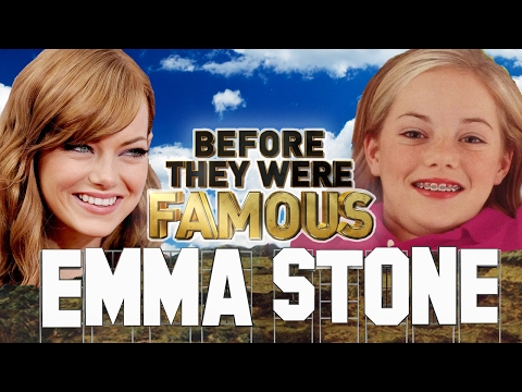 EMMA STONE – Before They Were Famous – La La Land Oscar Nomination