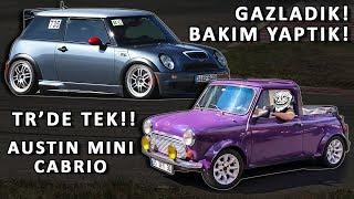 OTO SANAYİ ŞOK!! Bi' Başka Mini Cabrio - Gazladık! Bakım Yaptık! - Mini R53 JCW GP