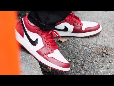 Air Jordan 1 Noble Red Low Sneaker Detailed Review