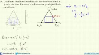 Problemas de Optimizacion - Libro de Stewart  Problema 24