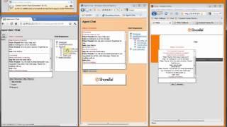 ShoreTel ECC 7 - Supervising a Web Chat