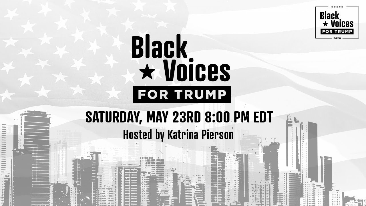 12 PM.    WATCH: Black Voice For Trump Online with Katrina Pierson, Ken Blackwell, and TW Shannon!