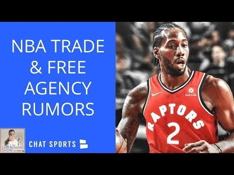 NBA Trade & Free Agency Rumors: LeBron James Talk Show, & Kawhi Leonard's Issues With Spurs