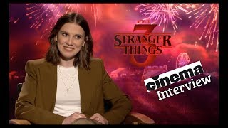 Stranger Things 3 Interview mit Millie Bobby Brown
