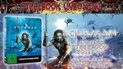 Unboxing - Aquaman - 2D Steelbook - Media Markt/Saturn exklusiv