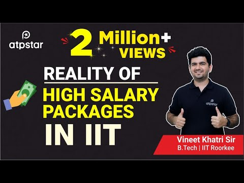 """Shocking Reality"" of  ""High salary packages"" in IITs- In Hindi"