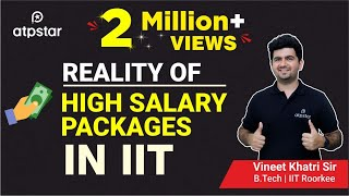 """""""Shocking Reality"""" of  """"High salary packages"""" in IITs"""