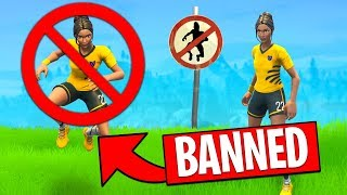 Winning Fortnite WITHOUT Jumping (frustrating)