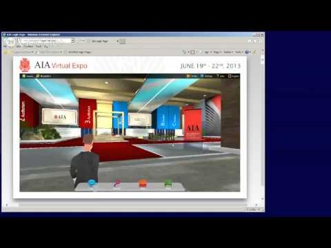 #AIA2013 Virtual Expo Demo
