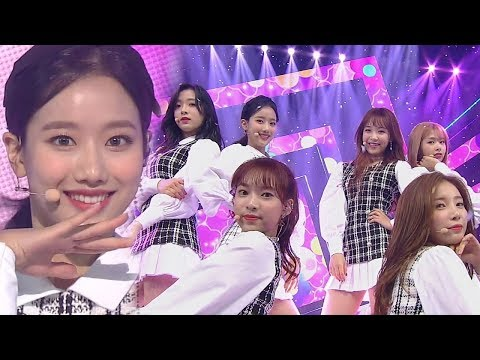 APRIL(에이프릴) - Oh! my mistake(예쁜 게 죄) @인기가요 Inkigayo 20181028