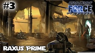 STAR WARS The Force Unleashed SITH LORD Act 3: Raxus Prime | Gameplay Walkthrough