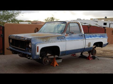 1979 Chevrolet Cheyenne Super 10 350 Restoration Project