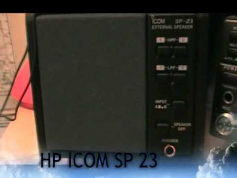 f0fvk test hp icom sp23 youtube rh youtube com Icom IC 756 Pro II Icom Radios