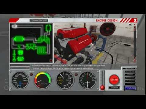 realistic engine building game 006 2700hp turbocharged