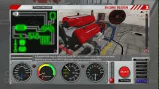 Realistic Engine Building Game - 006 - 2700hp Turbocharged V8