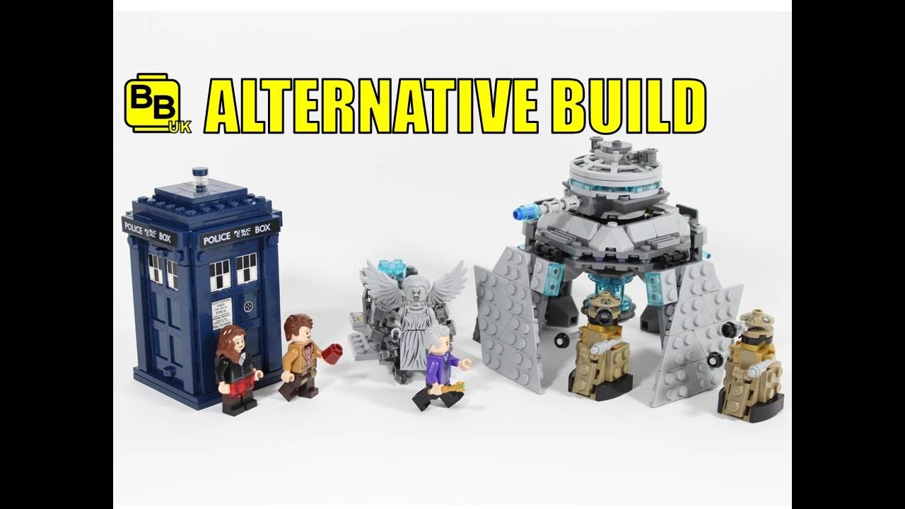 LEGO IDEAS DOCTOR WHO 21304 ALTERNATIVE BUILD DALEK EMPEROR - YouTube