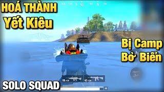 [PUBG Mobile] Xử Lý Xuất Thần Khi Bị 1 Squad Camp Bo Bờ Biển | Hoá Thành Yết Kiêu PUBG