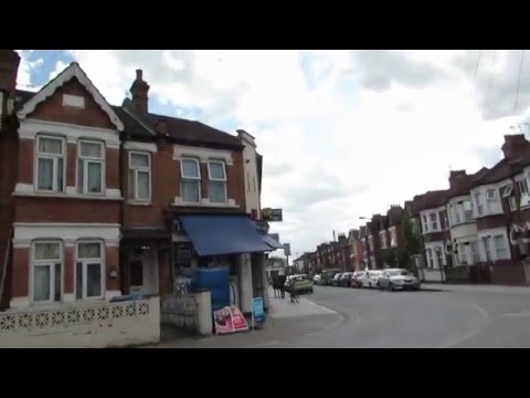 Walk along Chapter Road to Dollis Hill Station in Willesden London
